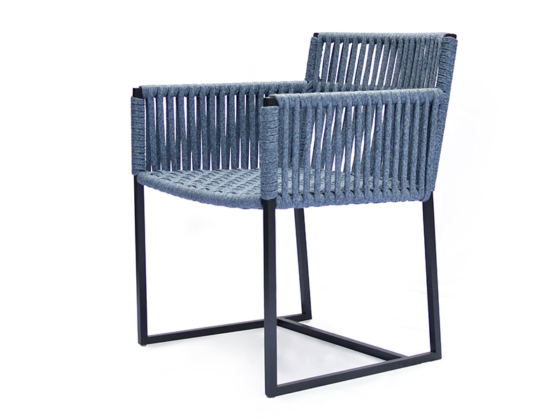 bord  low dining chair   interlacing seat