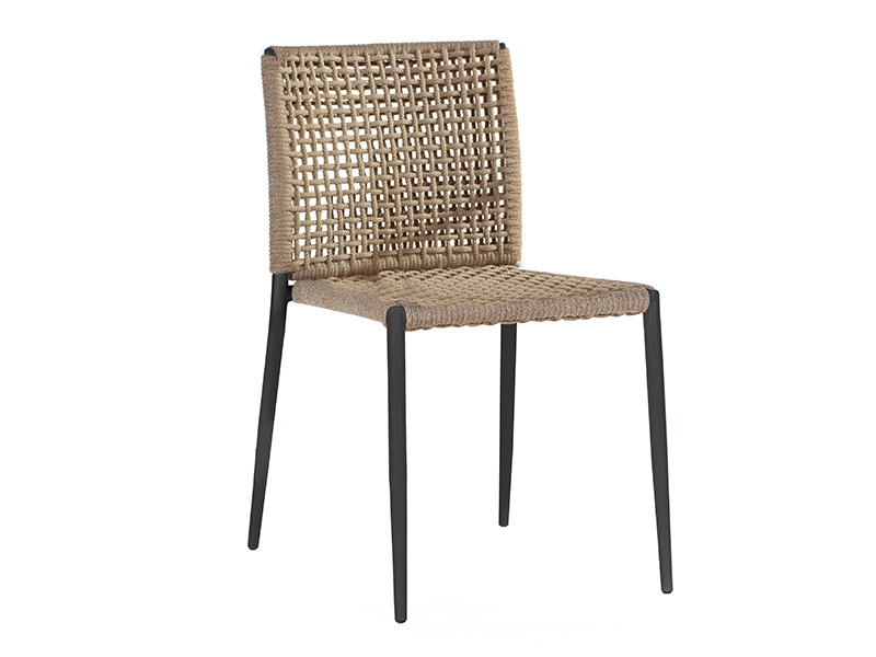 ryo  dining chair   interlacing seat  without arm