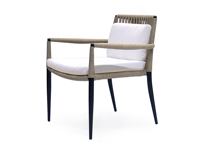 ryo  low dining chair   upholstery seat